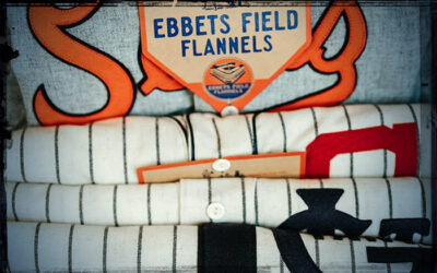 Vintage Baseball Jerseys with Flannel Fanatic Jerry Cohen